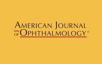 Nuova pubblicazione sull'American Journal of Ophthalmology