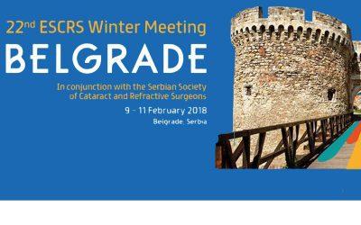 ESCRS Winter Meeting 2018