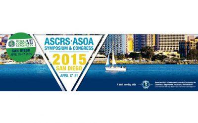 ASCRS 2015 San Diego