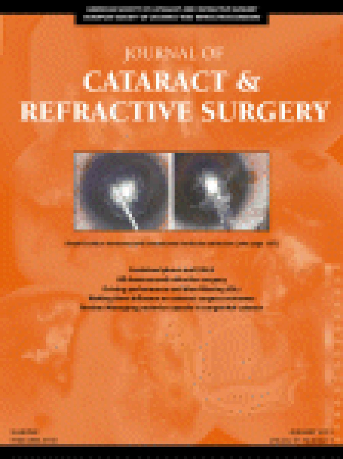 Accuracy of a dual Scheimpflug analyzer and a corneal topography system for intraocular lens power calculation